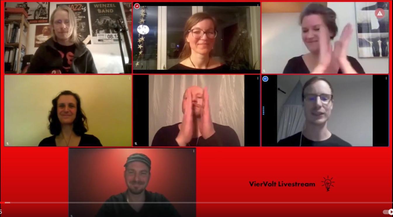 Screenshot Viertuelle Show